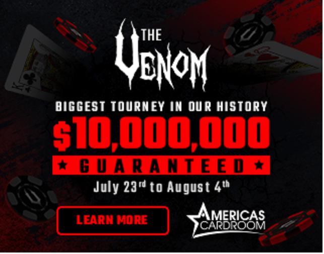 ACR venom $10 million